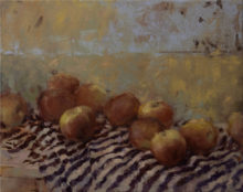 Picked apples, 40x50cm, oil on canvas